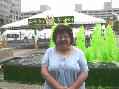 Susan at Irish Fest