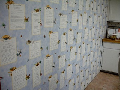 recipe wall